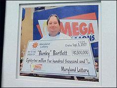 Bunky Barlett, ganador de la MegaMillions @GrandesLoterias