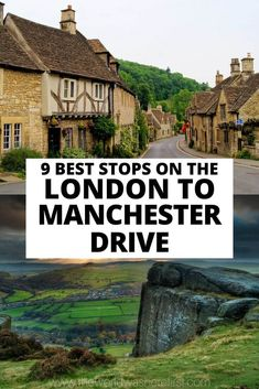 Looking for the perfect English road trip? You can't go wrong with driving from London to Manchester! This drive takes you through charming villages, beautiful countryside and thriving cities allowing for the perfect bucket list trip to England! Ireland Travel, Travel Europe, Nottingham Castle, England Countryside, London Manchester, Day Trips From London, Perfect English, Natural Scenery, Future Travel