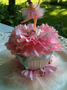 Sweet Celebration Fairy Cake Faux Cupcake