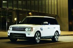 You will be mine one day... White range rover :)
