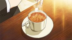 Find images and videos about gif, anime and anime food on We Heart It - the app to get lost in what you love. Aesthetic Gif, Aesthetic Food, Retro Aesthetic, Anime Gifs, Fanarts Anime, Anime Art, She And Her Cat, Anime Bento, Food Cartoon