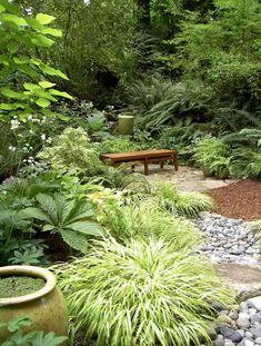 Garden Cottage, Lush Garden, Shade Garden, Big Garden, The Green Garden, Rocks Garden, Garden Grass, Garden Kids, Gravel Garden