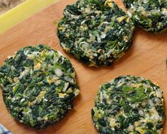 Spinach Burger Recipe - How to Make Spinach Burger Needs some tweaking. More garlic, no rice and maybe an egg to bind it all .Worth trying.
