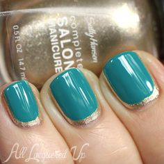 Outline Manicure Nail Art from Tracy Reese for Sally Hansen
