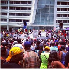 Justice For Trayvon rally in Atlanta, Ga.   July 20, 2013