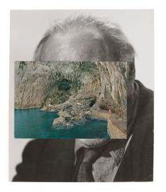 John Stezaker  Mask CII    @Megan Adamski    2011    Collage    22.8 x 19 cm