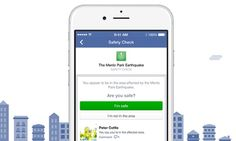 Facebook has introduced a new feature which allows users in a nearby disaster zone to record whether they are safe or not in the affected zone. This will allow family and friends to check other people they are connected to on Facebook are safe. This will be done by the users selected location on their profile.