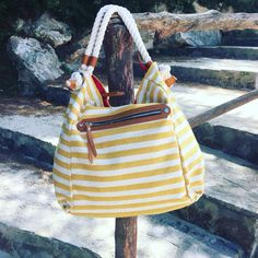 Bolsito marinero tono amarillo  #dbcomplementos #dbehappy #bolsos #marinero #summertime