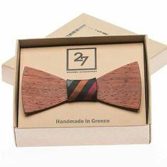 Padauk Wooden Bow Tie