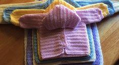 Crochet Baby Cardigan Free Pattern Newborns Lion Brand Ideas Crochet Baby Cardigan Free Pattern Newborns Lion Brand Ideas Knitting works include the time when lad. Crochet Baby Sweaters, Crochet Baby Clothes, Baby Knitting, Knitting Needles, Baby Sweater Patterns, Baby Patterns, Knitting Patterns, Boy Crochet Patterns, Sewing Patterns
