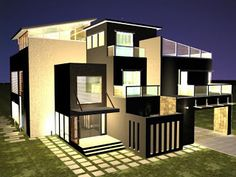 most beautiful modern homes in the world – oratertinfo big and beautiful houses in world - House Beautiful Contemporary House Plans, Modern House Plans, Small House Plans, Modern Contemporary, Minimalist House Design, Minimalist Architecture, Modern House Design, Beautiful House Plans, Beautiful Modern Homes