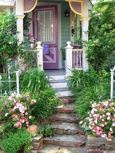 welcoming front door