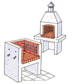 Fabriquer son barbecue ext rieur pinterest barbecue for Barbecue beton cellulaire exterieur