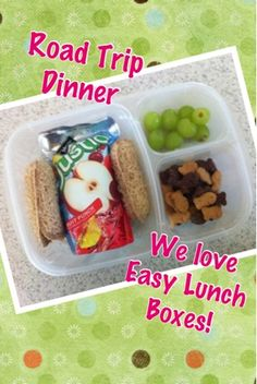 EasyLunchboxes are great to take on the road this summer. Avoid unhealthy drive-thrus!