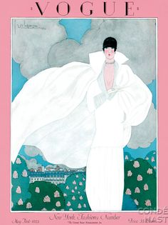 Vogue, May 1925. Vintage style Vogue #vogue #vintage #fashion #covers