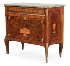** Gustavian 18th century commode by Georg Haupt, master 1770.