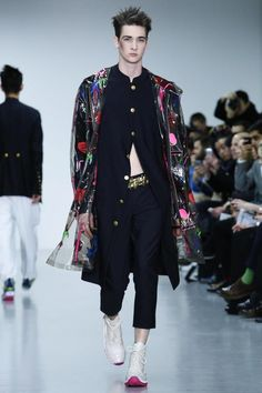 Sankuanz by GQ China Menswear Fall Winter 2015 London