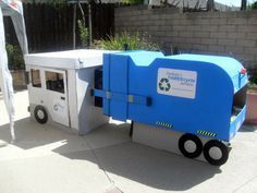 lots of great ideas for a trash party    Invite and Delight: Trash Truck Birthday Party