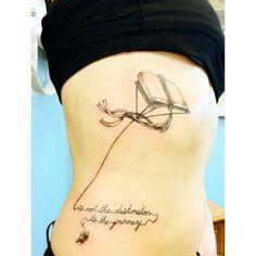 My new tattoo!!! #tattoo #book # quote
