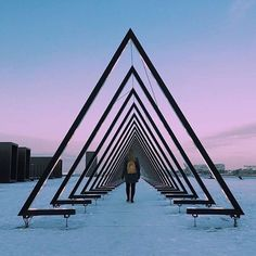 The Wave. This light & sound art installation by @obscuravertigo for @frostcph has been catching everyone's eye. See it at Ofelia Plads @ofeliaplads Copenhagen until 26th Feb. . Thanks @cardach for sharing with #visitdenmark! . #thewave #art #artwork #artnerd #artoftheday #frostfestival #festival #winter #winterbeauty #visitcopenhagen #sharingcph #copenhagen #scandinavia #europe_gallery #travelgram #traveltuesday
