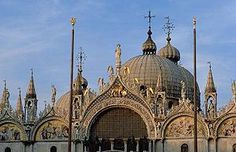 Venice Italy Venetian Palazzo Interiors | Saint Mark's in Venice. The spacious, resonant interior was one of the ...