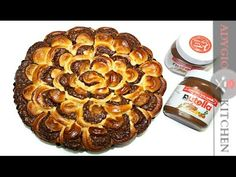 Cozonac pufos cu ciocolata impletit in 4 | Adygio Kitchen - YouTube Romanian Food, Romanian Recipes, No Cook Desserts, Nutella, Sausage, French Toast, Muffin, Sweets, Meat