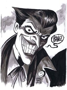 The Joker by Francesco Francavilla