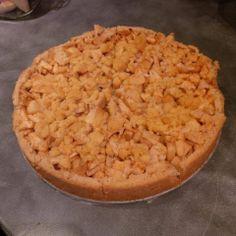 Open Appeltaart Apple Pie, Desserts, Food, Postres, Deserts, Apple Pies, Hoods, Meals, Dessert