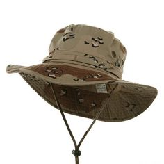 a4ce866db2c MG Men s Washed Cotton Twill Chin Cord Outdoor Hunting Hat  huntinghat   armyhat  buckethat