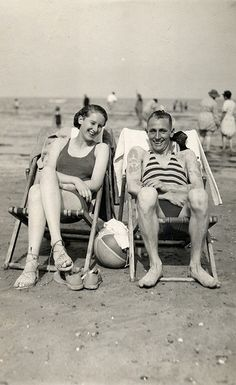 Couple on the beach at Margate by lovedaylemon, via Flickr