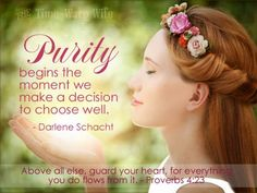 The Christ-Centered Wife: Examining the Virtue of Purity ~ Time-Warp Wife - Empowering Wives to Joyfully Serve