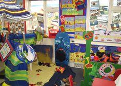 Seaside role-play area classroom display photo - Photo gallery - SparkleBox