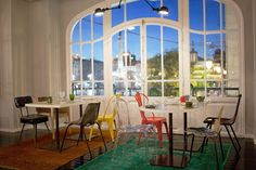 Restaurante Bastardo - Breaking the Rules at Internacional Design Hotel, Lisbon - Portugal Confidential Hotels In Portugal, Design Hotel, Lisbon Restaurant, Lisbon Hotel, Restaurant Offers, Boutique Design, Small Luxury Hotels, Beste Hotels, Outdoor Furniture Sets