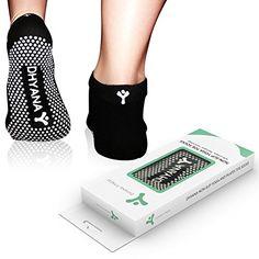 2b207714c16d4 Luxury Yoga Toe Socks for Women By Dhyana - S/M Size - Bonus Videos [Sports]