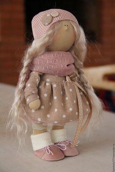 Коллекционные куклы ручной работы. Интерьерная кукла В НАЛИЧИИ. Светлана Юрьева. Интернет-магазин Ярмарка Мастеров. тильда кукла