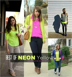 the MRS. & the MOMMA: BEST OF Friday Style....neon yellow