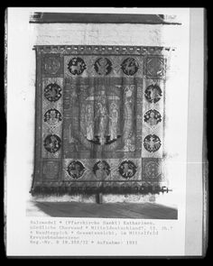 12th century wall hanging from Salzwedel