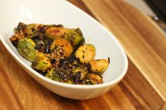 Mediterranean-Style Brussel Sprouts - Wild Rose Detox (D-Tox) Cleanse [gluten-free, dairy-free, yeast-free]