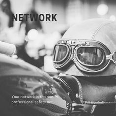 Build a real network for yourself. To build a good network nowadays you must leverage digital means but don't neglect physical face-to-face meetings. Schedule regular times for catch-up meetings with those in your network. These regular meetings build trust.   #brandelixir #helmets You Must, Helmets, Schedule, Physics, Trust, Times, Digital, Face, Quotes