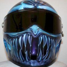Custom XXR Bandit helmet