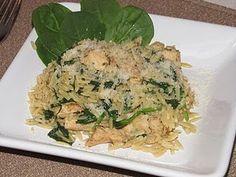 Garlic Chicken with Orzo Pasta | Tasty Kitchen: A Happy Recipe Community!