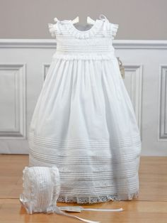 Faldón con capota batista blanco 2450 Belan - Ropa de bebés - Les bébés