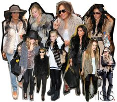 Celebrity Style: Go Faux! (Fur that is)   M.I.S.S.