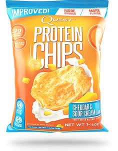 Quest Cheddar & Sour Cream. Not amazing, but not bad. And their low calorie and high in protein.