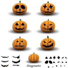 Basic pumpkin templates