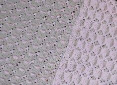 Reversible Shell Baby Blanket