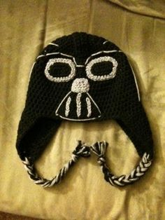 Knitting Pattern Darth Vader Hat : 1000+ images about Crochet Hats on Pinterest Crochet hats, Crochet hat patt...