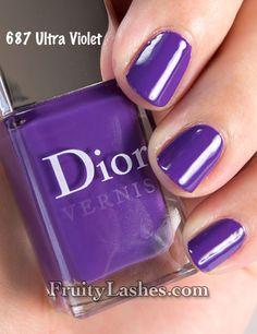 violet nails - Buscar con Google