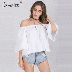 68ae8729d8 off shoulder cotton white blouse Summer ruffles tube tops beach casual  blusas www.nicolebrooklynsclosetshop.