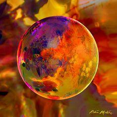 Chromatic Floral Sphere - Robin Moline